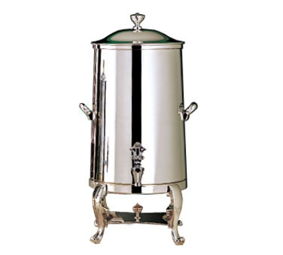 Bon Chef 49005C 5-Gallon Insulated Coffee Urn Server, Chrome, Roman