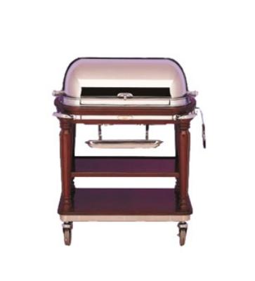 Bon Chef 50000 Roast Beef Trolley, Roll Back w/