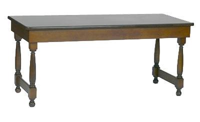 Bon Chef 50054 Folding Table, 30 x 72-in, Tavern