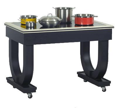 Bon Chef 50074 Deco Table w/ Radiant Heat