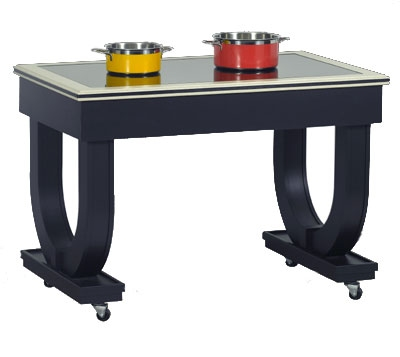 Bon Chef 50075 Deco Table w/ Induction Heat