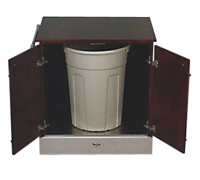Bon Chef 50089 Waste Cart on Rolling Casters, 34 x 38 x 26-in