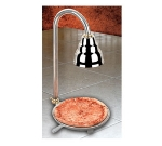 Bon Chef 50112 Pizza Server w/ Infrared Heat Lamp and Heat Bottom Pan