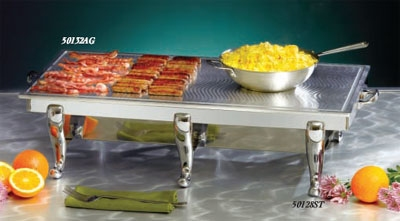 Bon Chef 50132AG 34.25-in Double Griddle Top Only, S