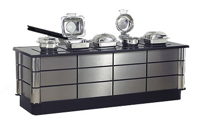 Bon Chef 50158 96-in Buffet w/ 5-Built-in Induction Stoves