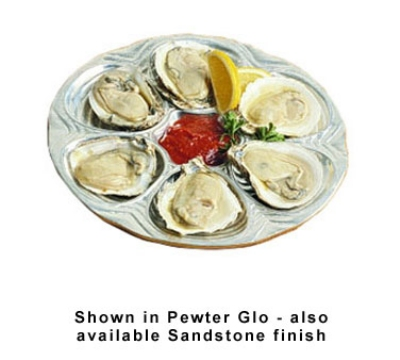 Bon Chef 5017S TAN 10.5-in Oyster Clam Plate