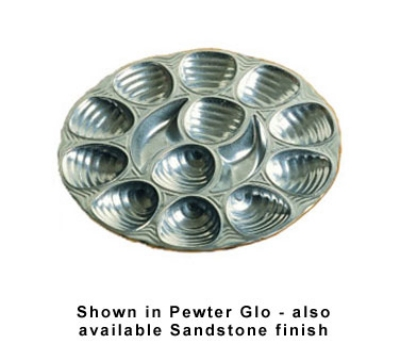 Bon Chef 5022P 11.25-in Oyster Dish,