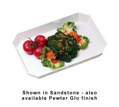 Bon Chef 5064S IVO 6.5-qt Serving Casserole Dish, Aluminum/Ivory