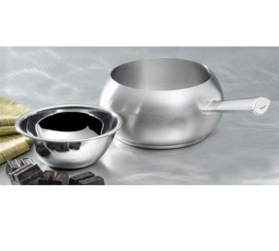 Bon Chef 5150SS 6-in Fondue Pot w/ Tapered Handle & Induction Bottom