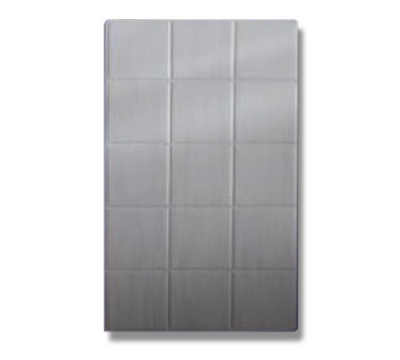 Bon Chef 52000P Full Size Tile, Aluminum/