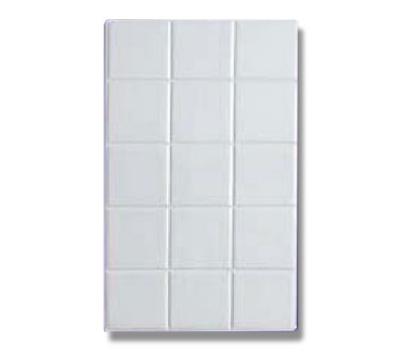 Bon Chef 52000S WH Full Size Tile, Aluminum