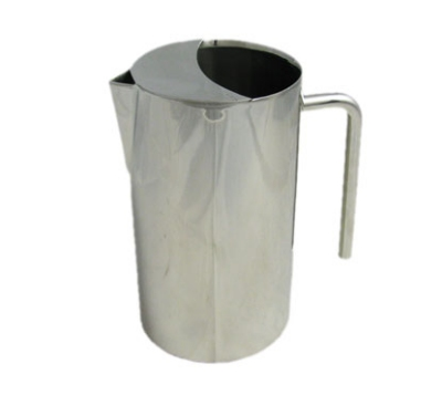 Bon Chef 61314 64-oz Water Pitcher w/ Ice Guard, Stainless Steel