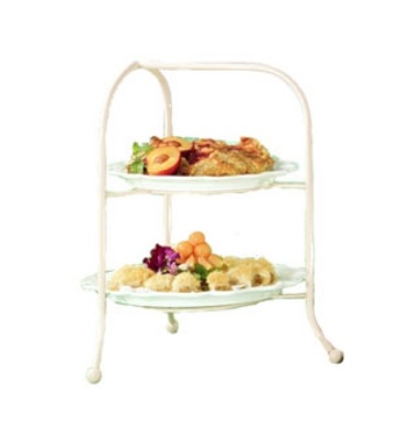 Bon Chef 7004S HGOLD Display Stand, fits 2036, 2067, 9091 & 9092, Aluminum/Harvest Gold