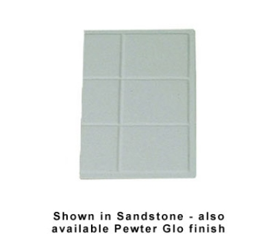 Bon Chef 960013SIVO 1/3-Size Tile Tray