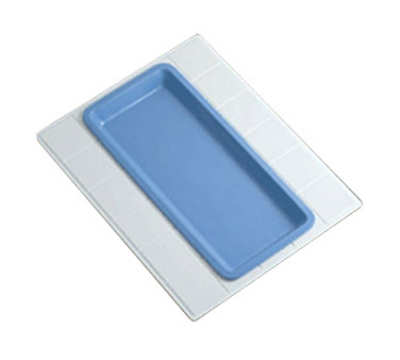 Bon Chef 9605H5101S DKBL 27-in Double Size Tile Tray for 5101, Aluminum/Dark Blue