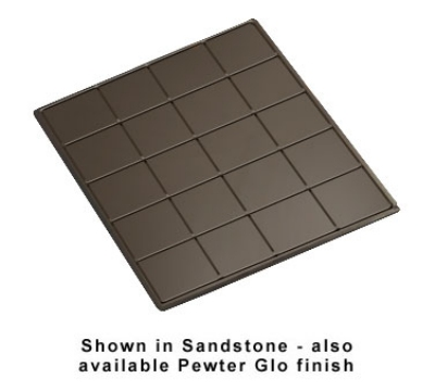 Bon Chef 96066051S WH 1-1/2-Size Tile Tray for 6051, 19.5 x 21