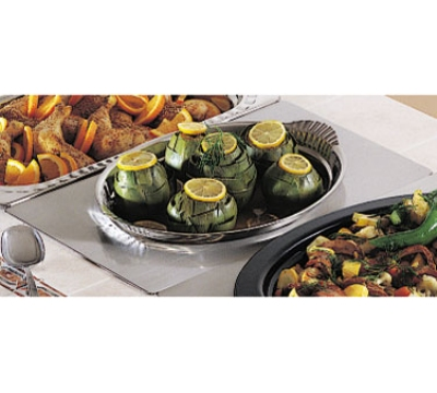 Bon Chef 966015 Full Size Tile Tray w/  Cutout for 2278, Stainless