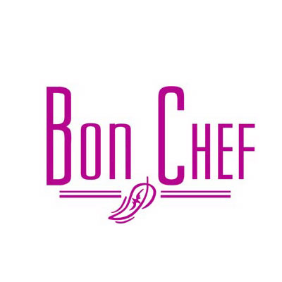 Bon Chef 9980S DROS Brass Column, Aluminum/Dusty Rose