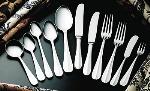 Bon Chef SBS113 Butter Spreader w/ Flat Handle, Monroe, Stainless Steel