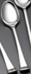 Bon Chef SBS3201S Bouillon Spoon, Aspen,