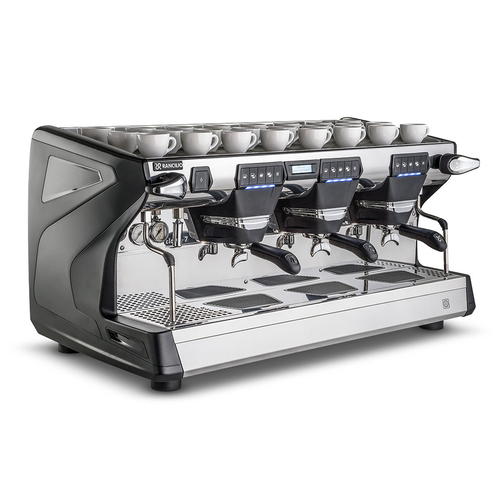 Rancilio CLASSE 7 E3TALL Classe 7 Fully Automatic Tall Espresso Machine w/ 16-Liter Boiler