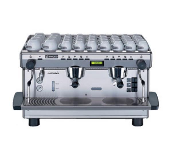 Rancilio Espresso & Cappuccino CLASSE 8 DE2TALL Classe 8 Espresso Machine Fully Automatic 11 Liter Boiler Restaurant Supply