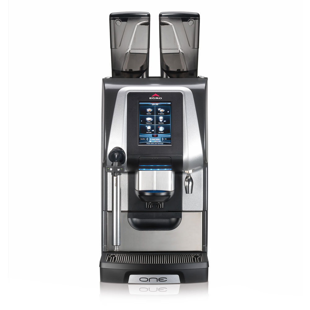 Rancilio ONE-TOUCH PURE EGRO ONE Pure Coffee Machine w/ Touchscreen & Isteam Wand