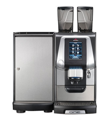 Rancilio ONE-TOUCH TOP XP EGRO ONE Top Milk Machine w/ Touchscreen, Fridge & 2-Head