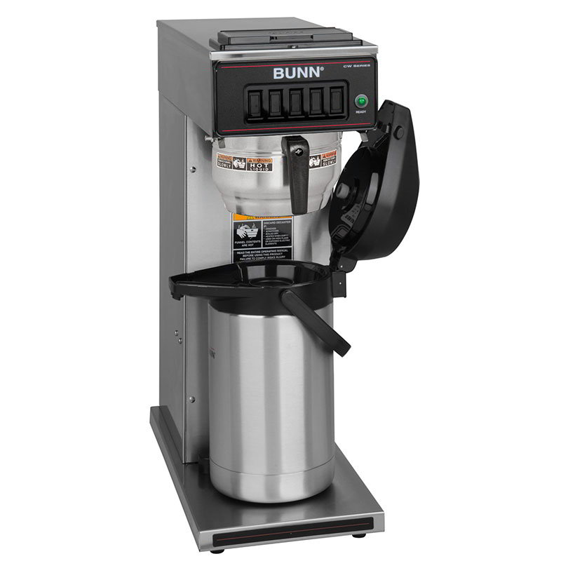BUNN-O-Matic 23001.0062 CW15-APS Airpot Coffee Brewer, Pourover, Gourmet Funnel, 120V