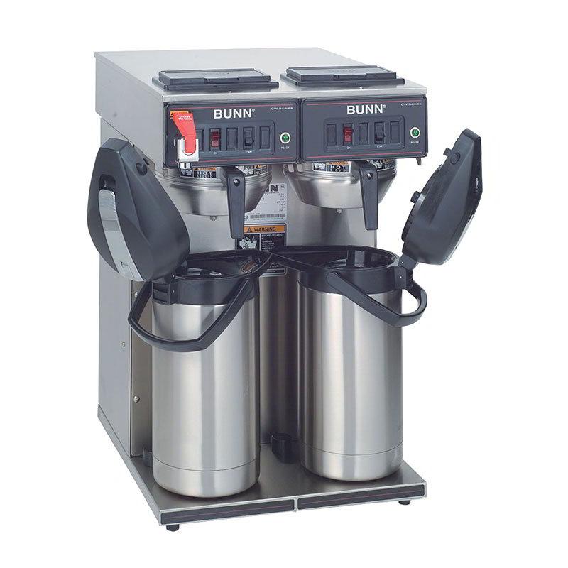 BUNN-O-Matic 23400.0041 Twin Airpot Coffee Brewer, Faucet, 120/240 V