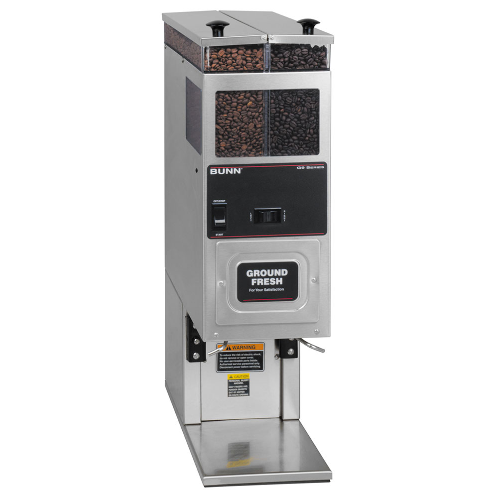 BUNN-O-Matic 24250.0021 Coffee Grinder, 2-Hoppers
