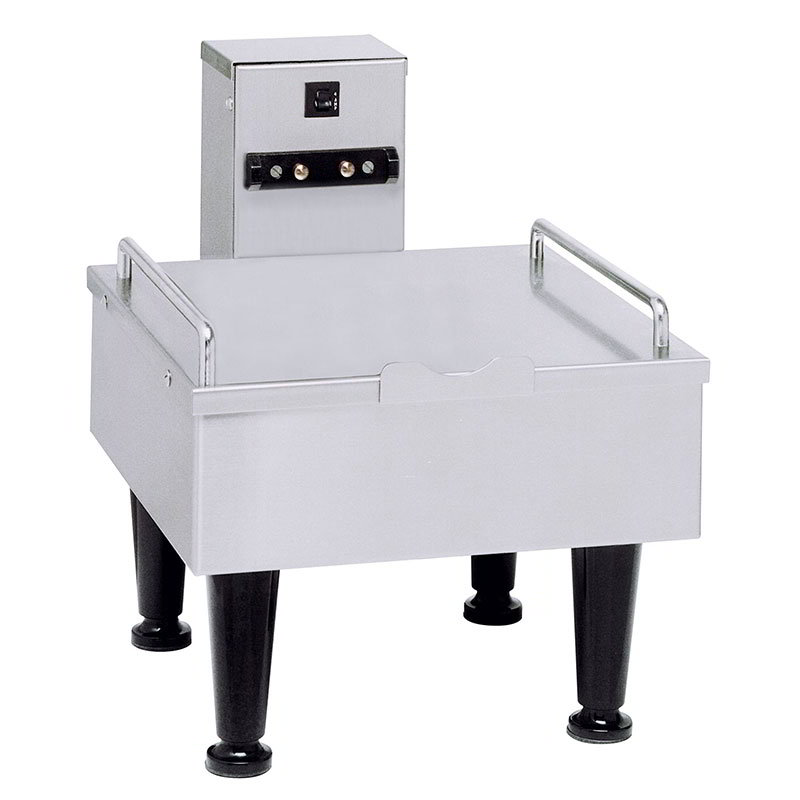 BUNN-O-Matic 27825.0000 1SH Stand For Satellite Coffee Server, S/S Finish, 4 in Legs, 120V