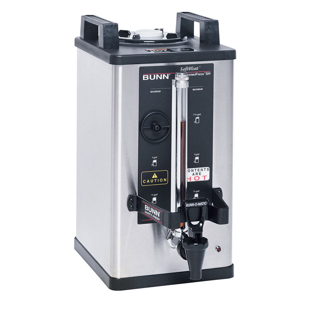 BUNN-O-Matic 27850.0016 1.5-Gallon Satellite Brewer Server, 240 Min. Setting, S/S Finish