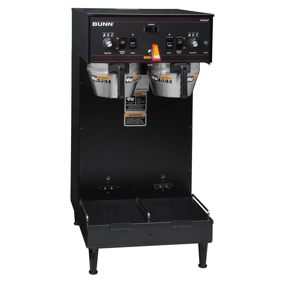 BUNN-O-Matic 27900.0020 Dual SH Dual Satellite Coffee Brewer, Black Finish, 120/208V