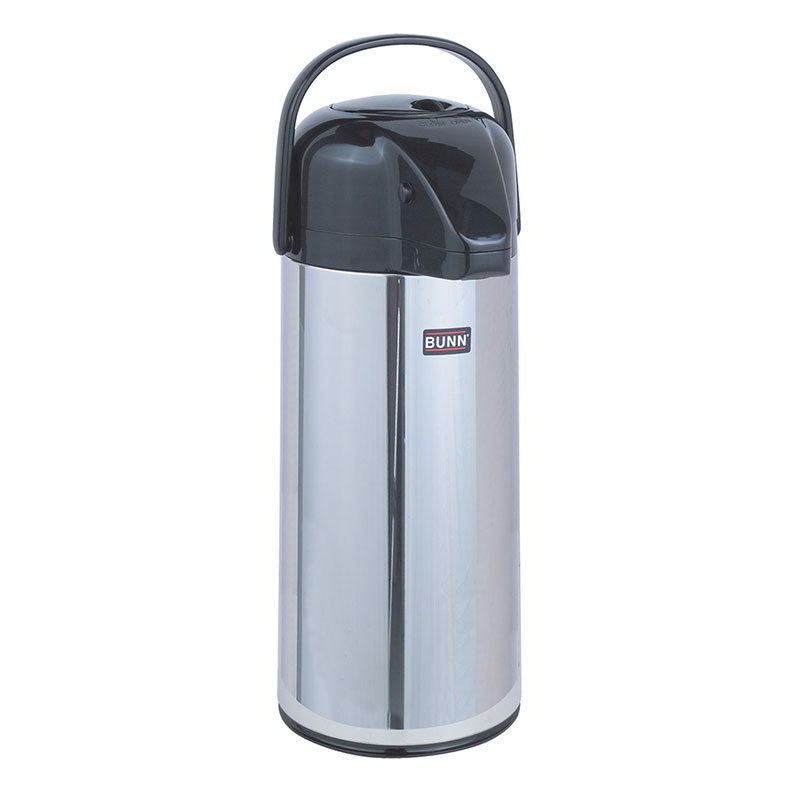 BUNN-O-Matic 28696.0002 2.2 Liter Push-Button Airpot, Glass Liner