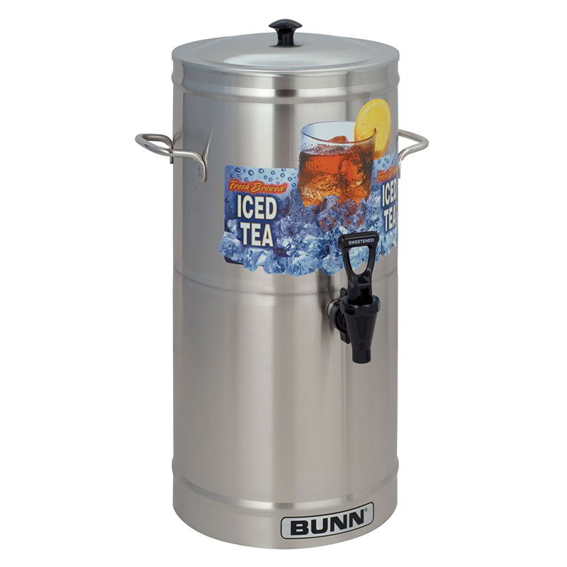 BUNN-O-Matic 33000.0000 TDS-3 Iced Tea Dispenser, Cylinder Style, 3 Gallon