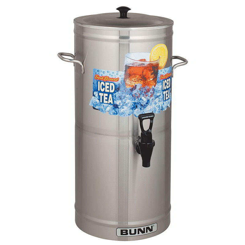 BUNN-O-Matic 33000.0008 TDS-3.5 Iced Tea Dispenser, Cylinder Style, 3.5 Gallon
