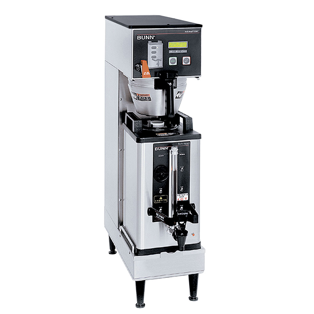 BUNN-O-Matic 33600.0000 Single SH DBC, Satellite Brewer, S/S Finish, Upper Faucet, 120/240V