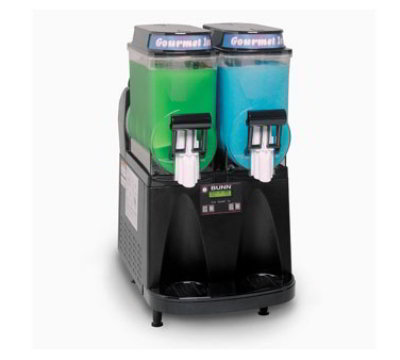 BUNN-O-Matic 34000.0011 ULTRA -2PAF Frozen Drink Machine, Powder Autofill, All Black Finish