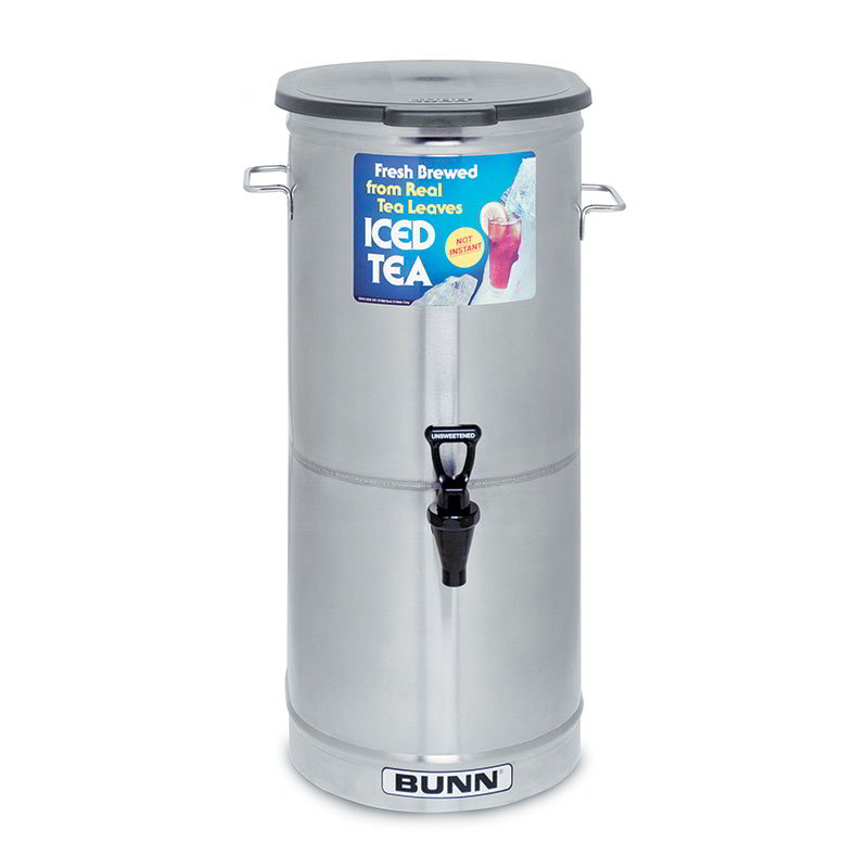 BUNN-O-Matic 34100.0001 TD0-5 Tea Dispenser with Handle, 5 Gallon