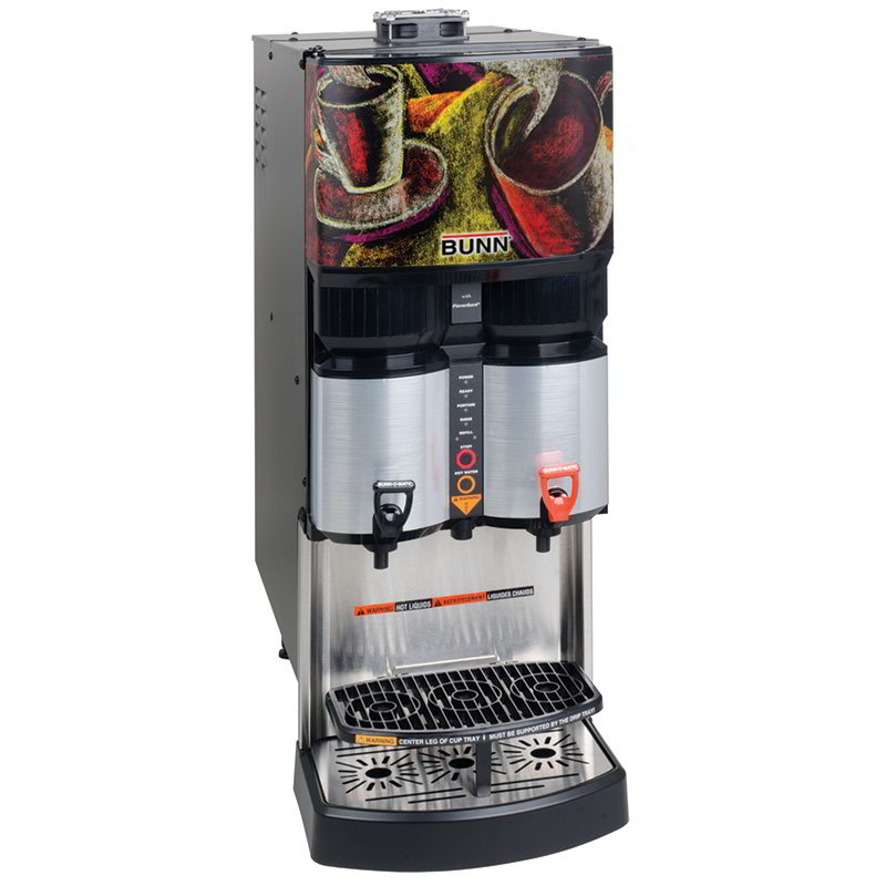 BUNN-O-Matic 34400.0001 Ambient Liquid Coffee Dispenser, Scholle 1910LX Connect 45:1-100:1