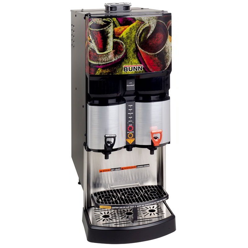 BUNN-O-Matic 34400.0002 Ambient Liquid Coffee Dispenser, Scholle 1910LX Connect 25:1-45:1