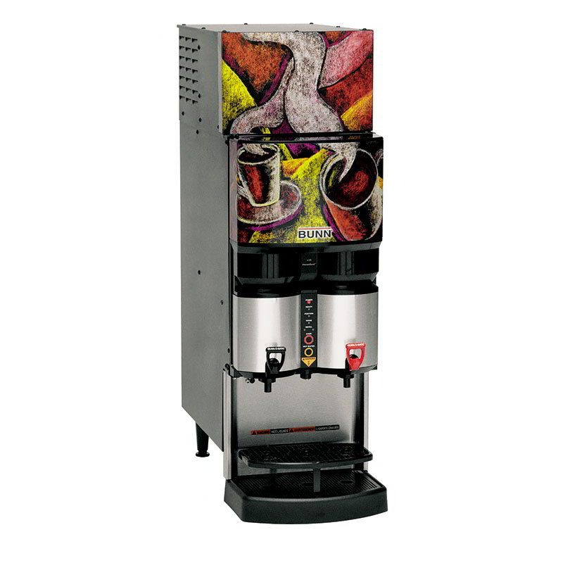 BUNN-O-Matic 34400.0003 Ambient Liquid Coffee Dispenser, LiquiBox QC/DII Connect 45:1-100:1