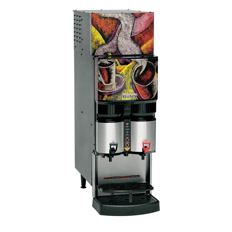 BUNN-O-Matic 34400.0039 Refrigerated Liquid Coffee Dispenser, LiquiBox QC/DII Connect 25:1-45:1