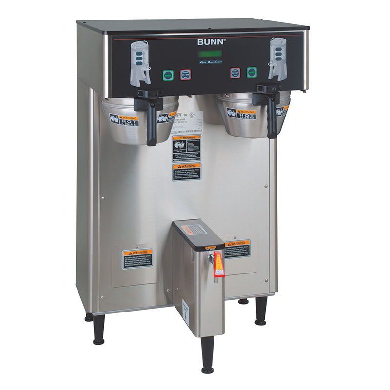BUNN-O-Matic 34600.0002 Dual TF DBC Dual Satellite Digital Coffee Brewer, S/S Finish, 120/240V