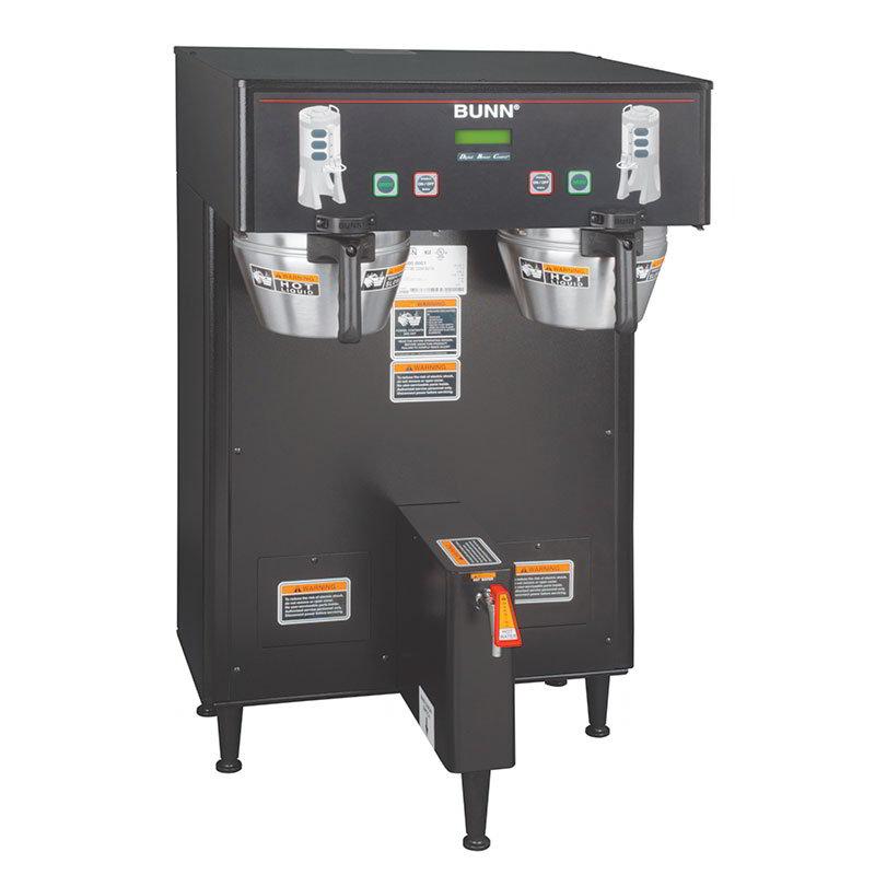 BUNN-O-Matic 34600.0005 Dual Satellite Digital Coffee Brewer, Black Finish,  120/208V