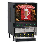 FMD-5 BLK Hot Powdered Drink Machine, 5 Hoppers