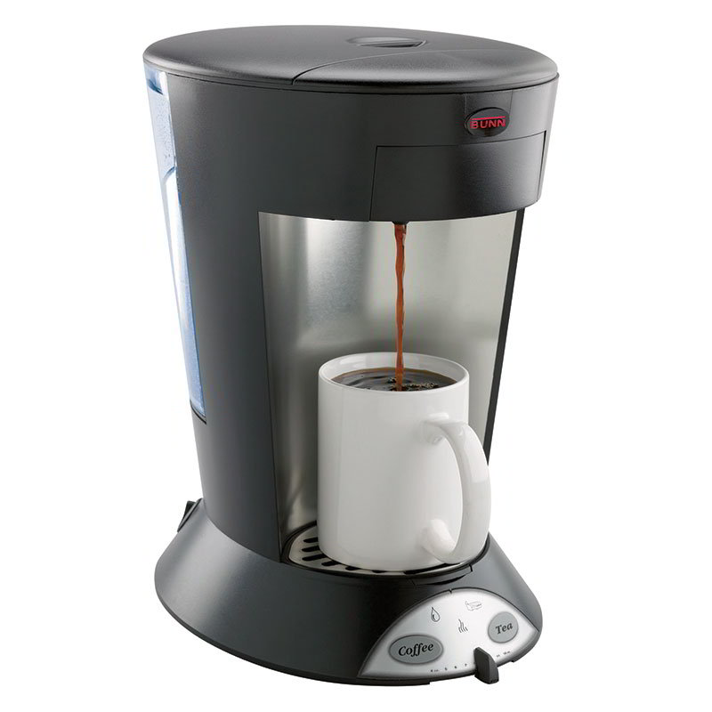 BUNN-O-Matic 35400.0003 MCP My Cafe Pod Brewer, Pourover, 1 Cup, Coffee & Tea