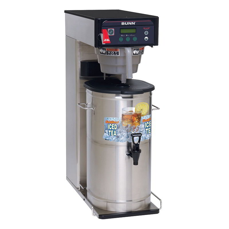 BUNN-O-Matic 35700.0001 ITCB-DV Infusion Tea Coffee Brewer, 25.75 in Trunk, Dual Voltage