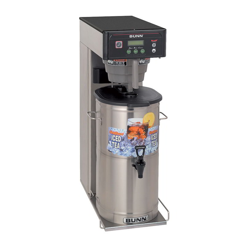 BUNN-O-Matic 35700.0033 3-5 Gallon Infusion Tea/Coffee Brewer, With Sweetener, 120/208-240 V